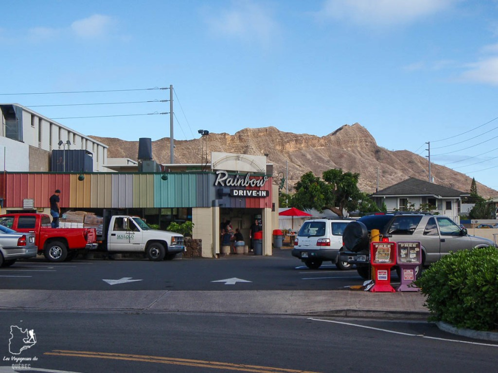 Le Rainbow drive in à Waikiki à Hawaii dans notre article Waikiki à Hawaii en 10 coups de coeur : destination plage et surf d'Oahu #waikiki #hawaii #oahu #voyage #surf #plage