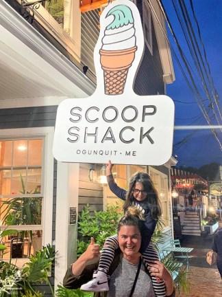 Scoop Shack à Ogunquit dans le Maine dans notre article Ogunquit dans le Maine : petit guide pour des vacances en famille réussies #ogunquit #maine #usa #etatsunis #plage #famille #vacances
