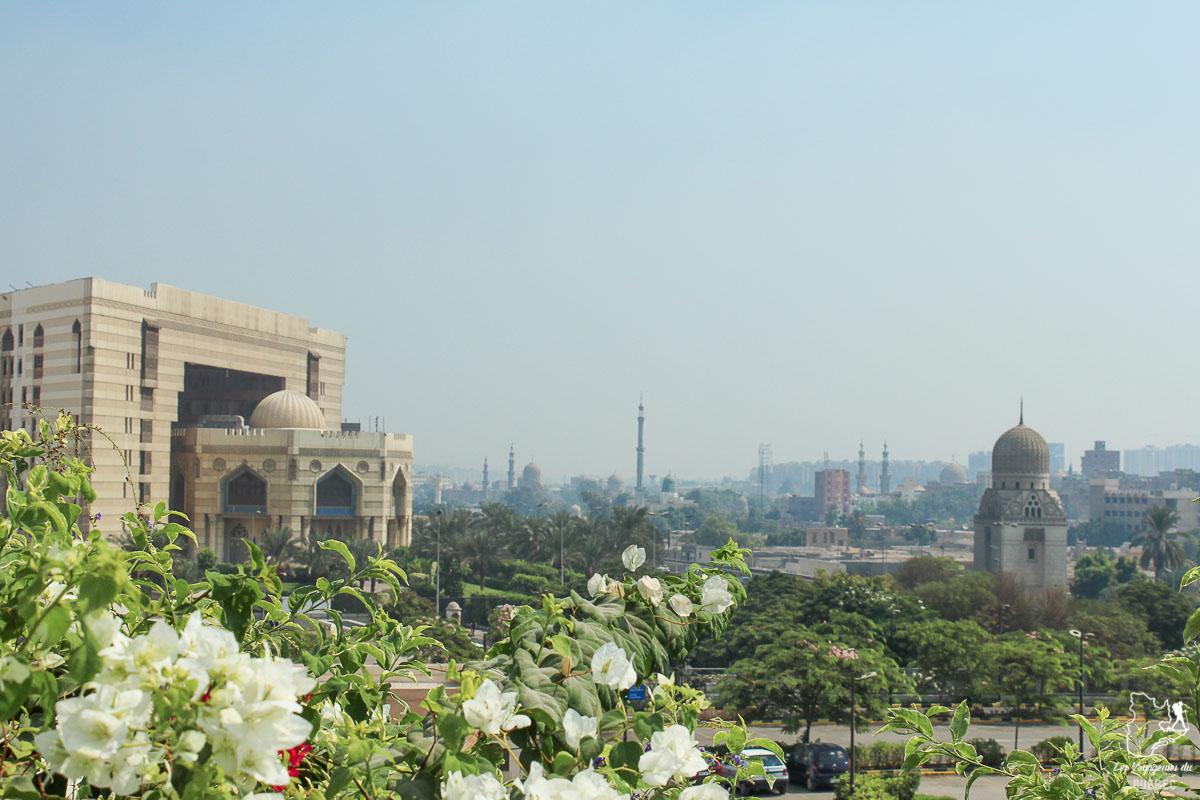 Parc Al-Azhar au Caire en Égypte dans notre article Le Nil en Égypte : L'itinéraire de mon voyage sur le Nil en train #egypte #nil #afrique #train #voyage #caire