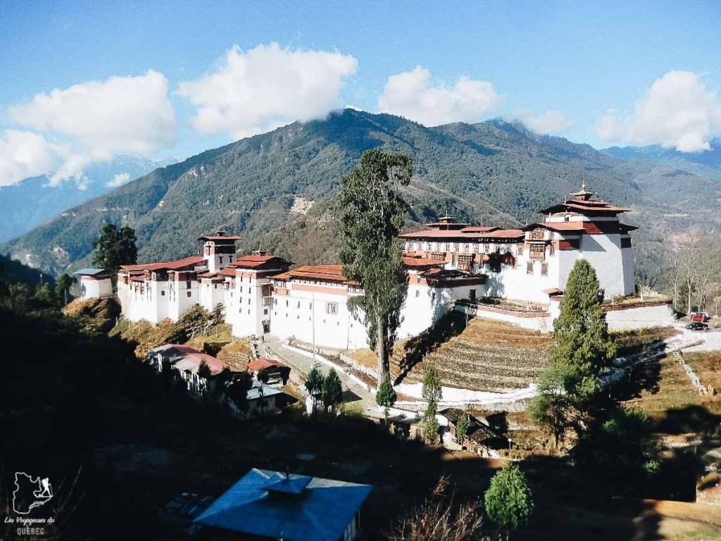 Le Dzong de Trongsa dans notre article Visiter le Bhoutan : Voyage dans ce petit royaume enchanteur hors du temps #bhoutan #asie #voyage