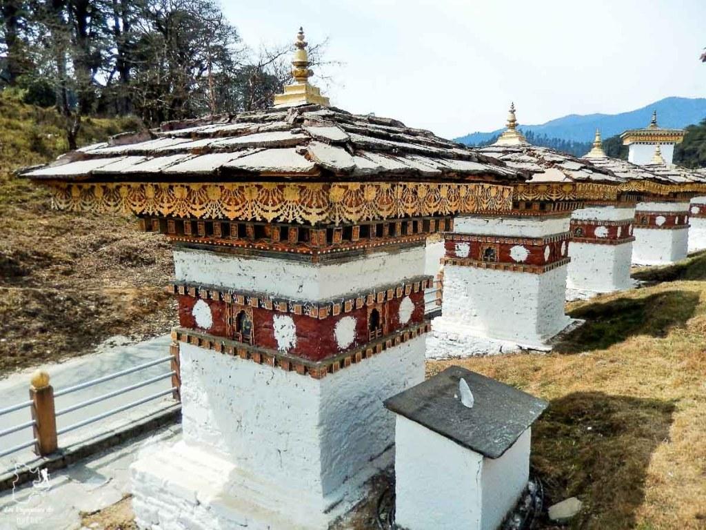 Col Dochula à 3200m lors d'un voyage au Bhoutan dans notre article Visiter le Bhoutan : Voyage dans ce petit royaume enchanteur hors du temps #bhoutan #asie #voyage