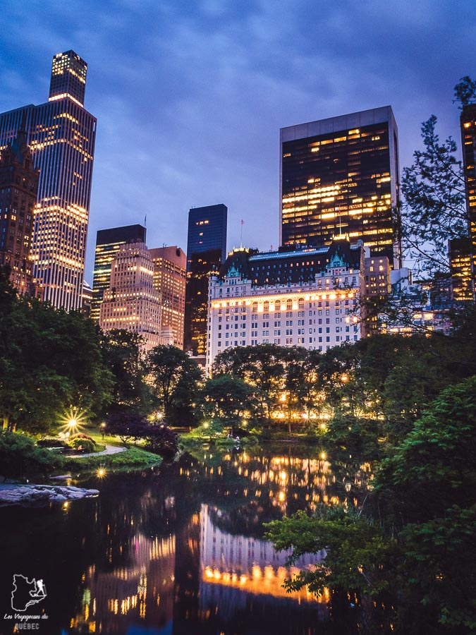 Points de vue de New York sur The Pond dans notre article Les meilleurs points de vue de New York et endroits pour photographier la ville #newyork #usa #etatsunis #vue #panoramique #pointsdevue