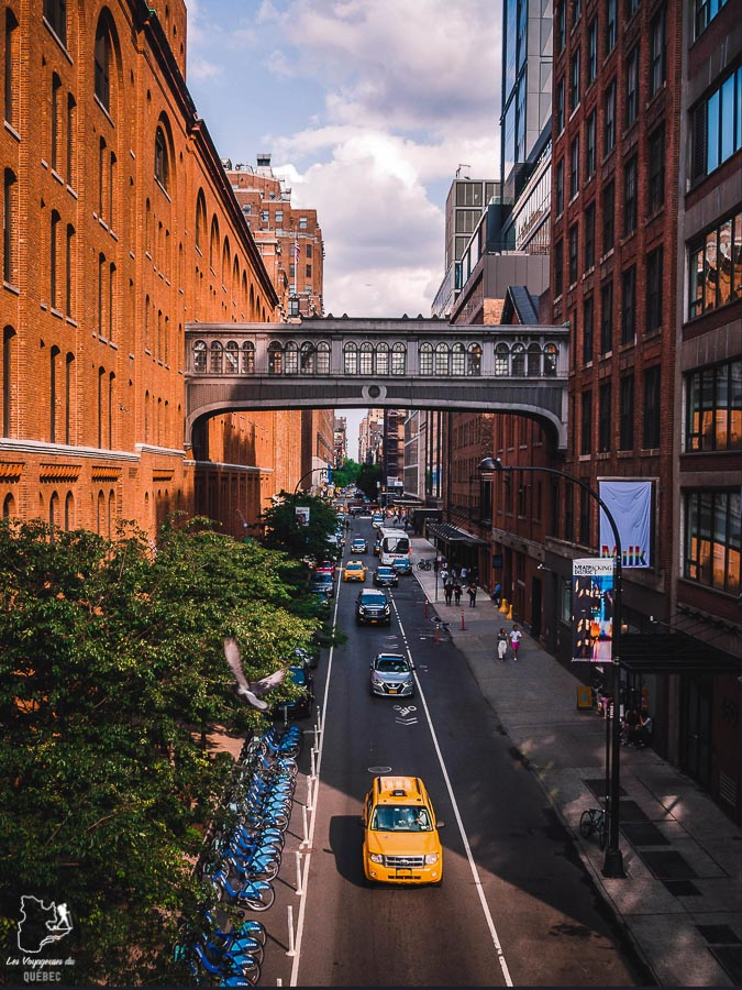 Points de vue de New York depuis la High Line dans notre article Les meilleurs points de vue de New York et endroits pour photographier la ville #newyork #usa #etatsunis #vue #panoramique #pointsdevue