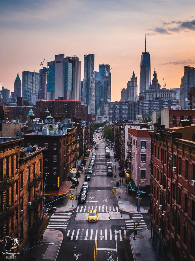 Points de vue de New York depuis le Manhattan Bridge dans notre article Les meilleurs points de vue de New York et endroits pour photographier la ville #newyork #usa #etatsunis #vue #panoramique #pointsdevue