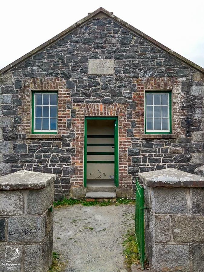 École de rang au Irish Folk and Transport museum de Belfast dans notre article Visiter Belfast en Irlande du Nord : que faire à Belfast, un musée à ciel ouvert #belfast #irlandedunord #royaumeunis #voyage #citytrip #europe