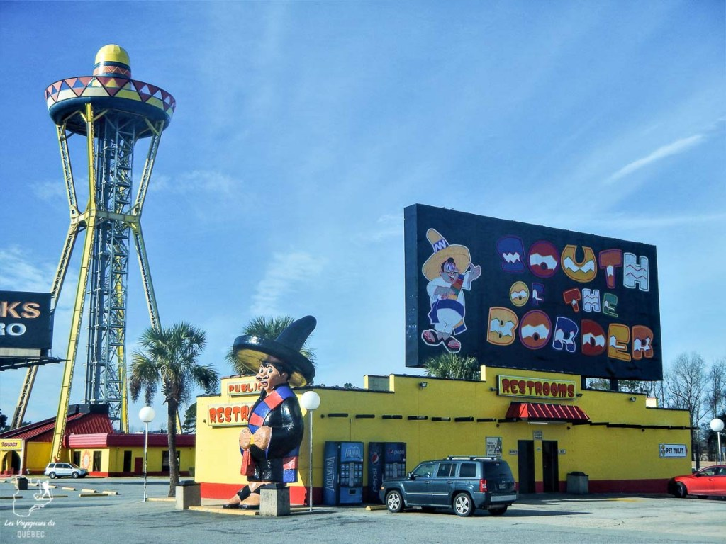 South of the border sur la route vers Walt Disney World en Floride dans notre article Walt Disney World à Orlando : Le meilleur de ce parc d'attractions en Floride #waltdisney #waltdisneyworld #floride #disney #parcattraction #orlando