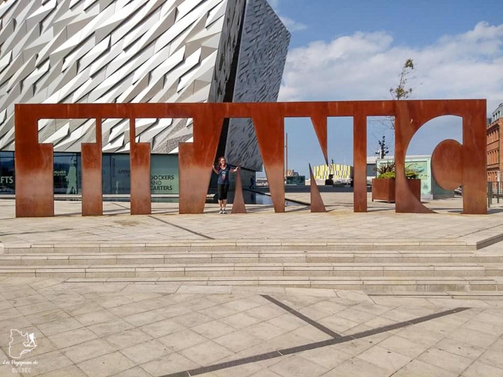 Visiter Belfast et le musée du Titanic dans notre article Visiter Belfast en Irlande du Nord : que faire à Belfast, un musée à ciel ouvert #belfast #irlandedunord #royaumeunis #voyage #citytrip #europe