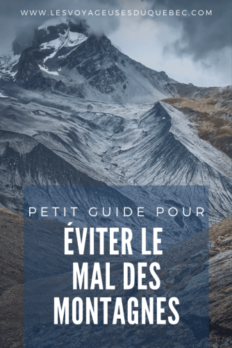 Petit guide pour éviter le mal des montagnes en altitude