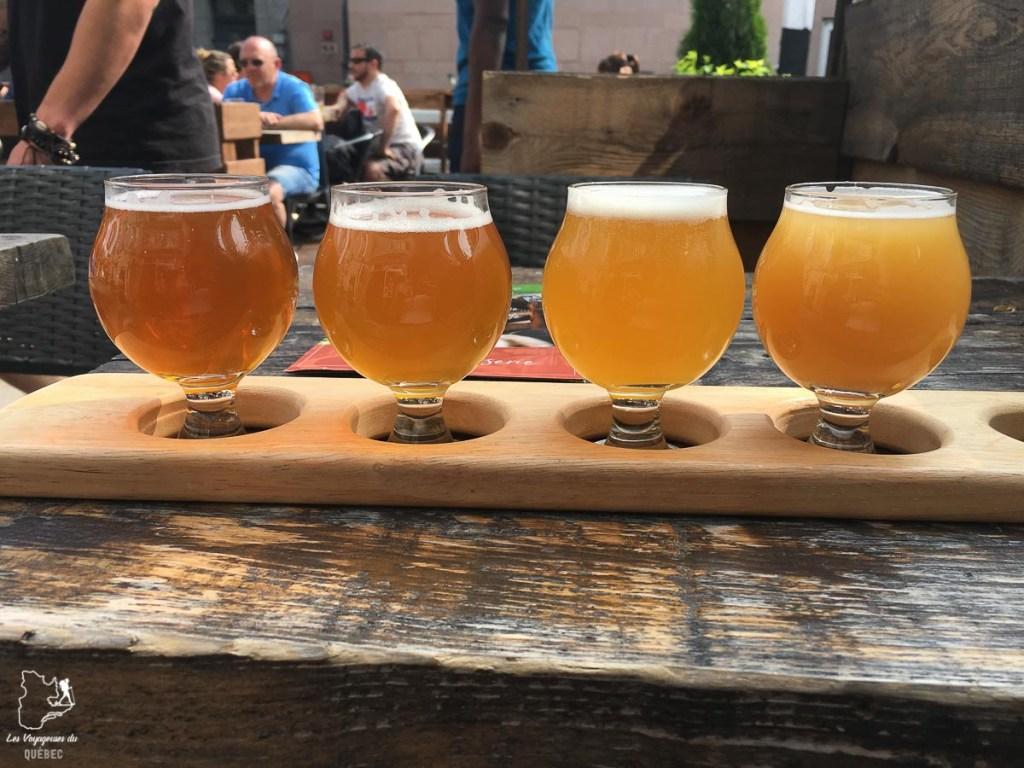 Dégustation de bières artisanales à Portland dans le Maine dans notre article Visiter Portland : Quoi faire à Portland dans le Maine pour un weekend gourmand #Portland #Maine #USA #voyage #foodtour