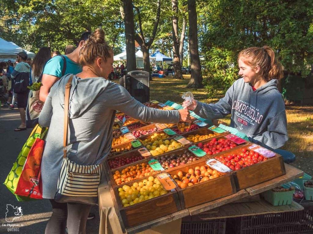 Le Farmer's market, à visiter lors d'un week-end à Portland dans notre article Visiter Portland : Quoi faire à Portland dans le Maine pour un weekend gourmand #Portland #Maine #USA #voyage #foodtour