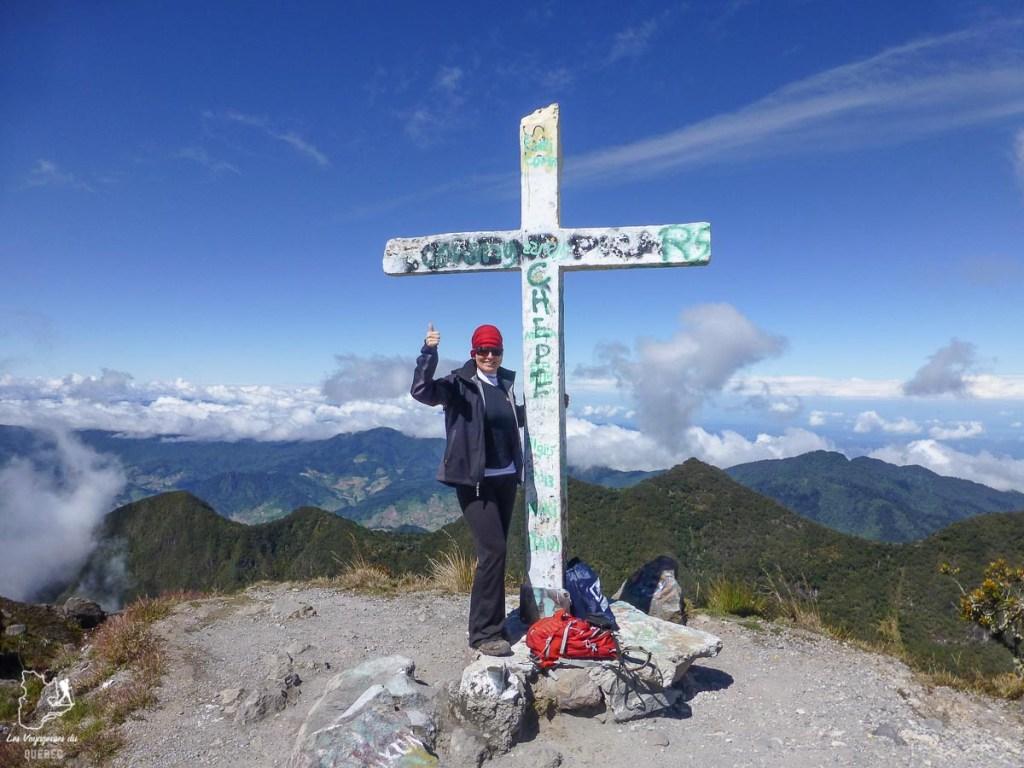 Sommet du Volcan Baru au Panama dans notre article Comment se préparer à la haute altitude pour éviter le mal des montagnes #montagne #hautealtitude #hautemontagne #maldesmontagnes #malaigudesmontagnes #randonnee #hautealtitude