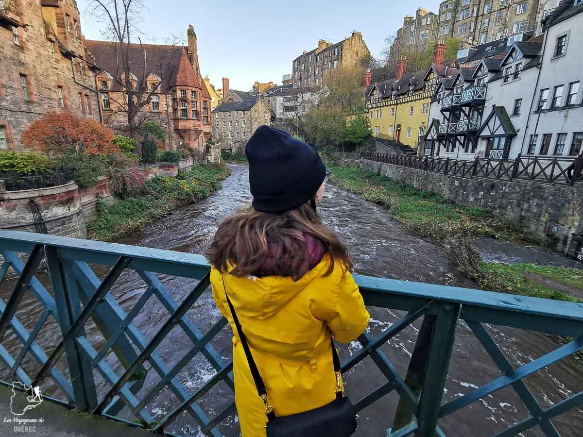 Dean village près d'Edimbourg dans notre article Road trip en Écosse : Une semaine de road trip sportif et gastronomique #ecosse #roadtrip #europe #grandebretagne #royaumeunis #voyage
