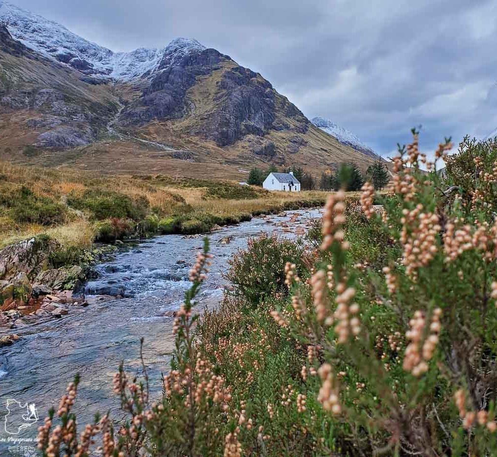 Vallée de Glen Coe dans les Highlands en Écosse dans notre article Road trip en Écosse : Une semaine de road trip sportif et gastronomique #ecosse #roadtrip #europe #grandebretagne #royaumeunis #voyage