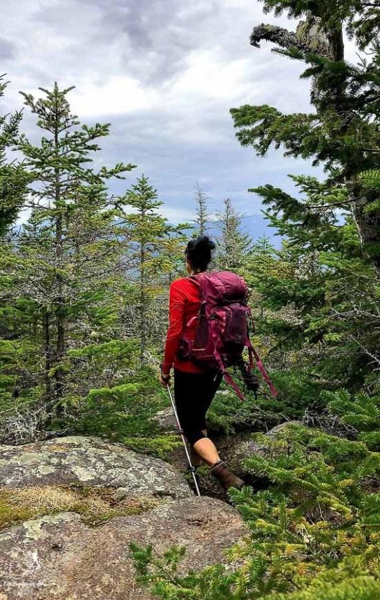 Randonnée dans les Adirondacks durant la saison de dégel dans notre article Devenir un Adirondack 46er : Faire l'ascension des 46 plus hautes montagnes des Adirondacks #adirondack #adirondacks #46ers #46er #ADK46er #montagnes #usa #randonnee