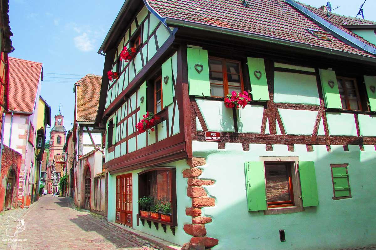 Village Obernai à visiter en Alsace près de Strasbourg dans notre article Visiter Strasbourg en Alsace et ses environs en 6 itinéraires d'un jour #strasbourg #alsace #france #voyage