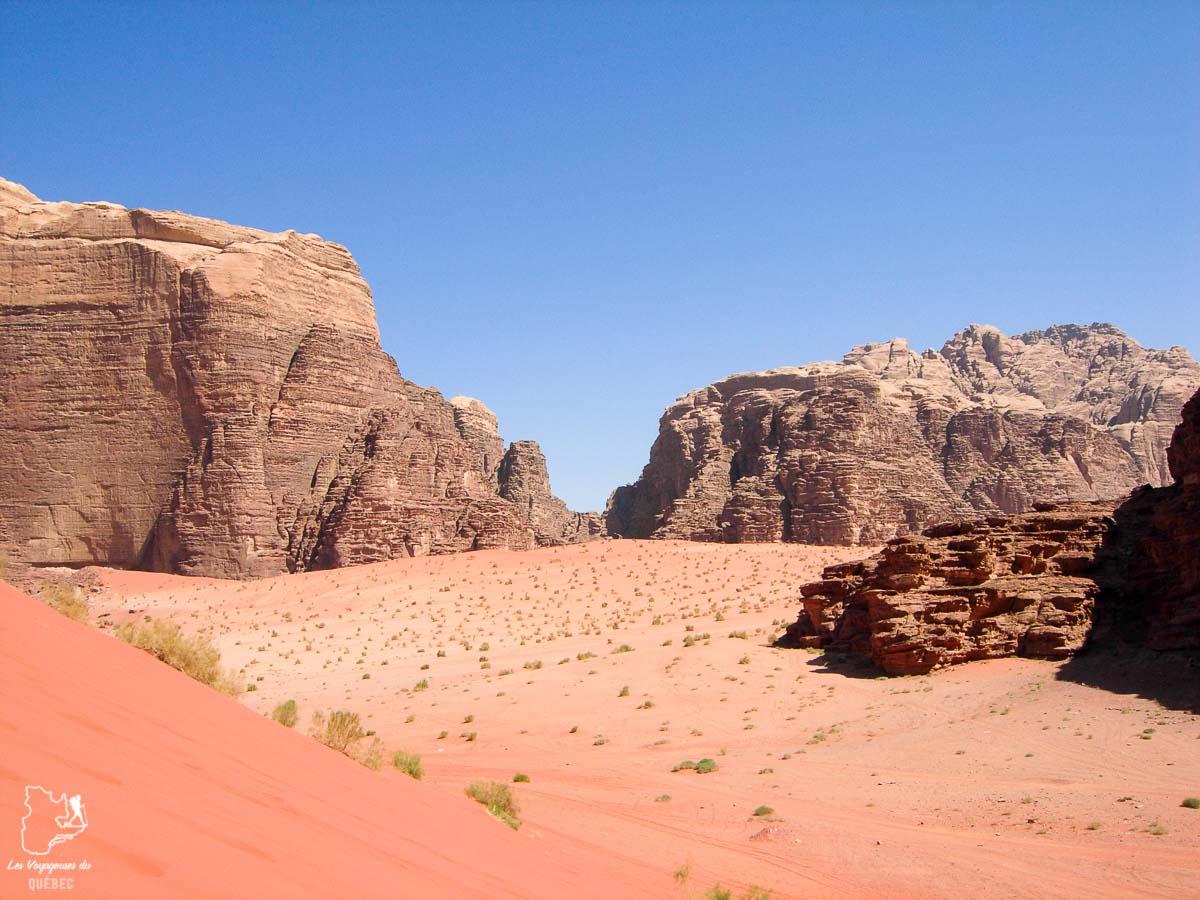 Désert du Wadi Rum dans notre article Déserts du monde : L'expérience mystique du Sahara, Thar et Wadi Rum #deserts #desert #sahara #thar #wadirum #voyage