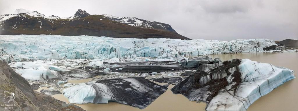 La lagune glaciaire Svínafellsjökull dans notre article Une semaine en Islande : Mon expérience à visiter l'Islande en solo #islande #unesemaine #voyage #europe #voyageensolo