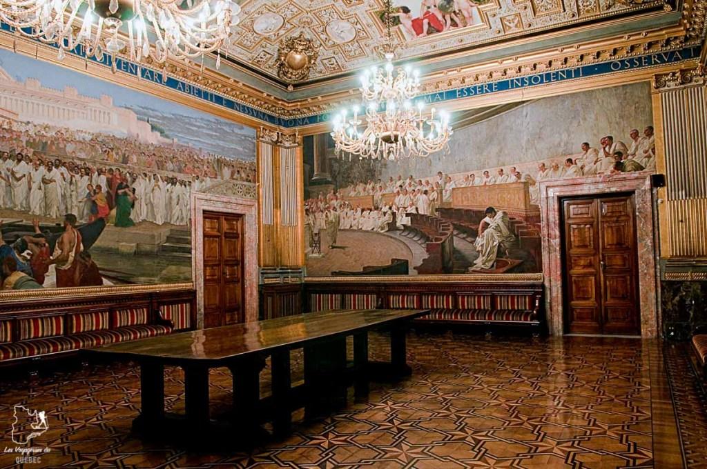 Le Palazzo Madama de Rome dans notre article Visiter Rome en 4 jours : Que faire à Rome, la capitale de l'Italie #rome #italie #europe #voyage