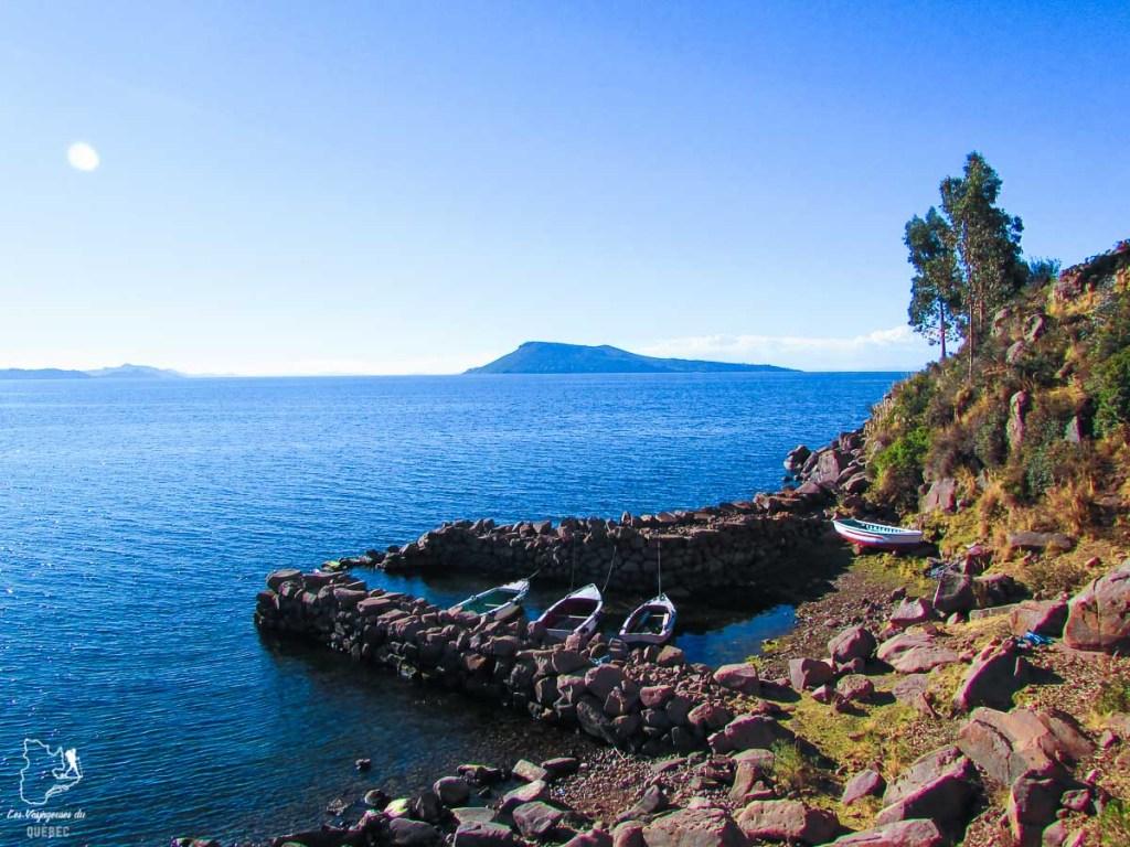 Île Taquile sur le lac Titicaca au Pérou dans notre article Le lac Titicaca au Pérou : Mon expérience sur 3 îles et dans une famille locale #perou #lactiticaca #titicaca #voyage #ameriquedusud