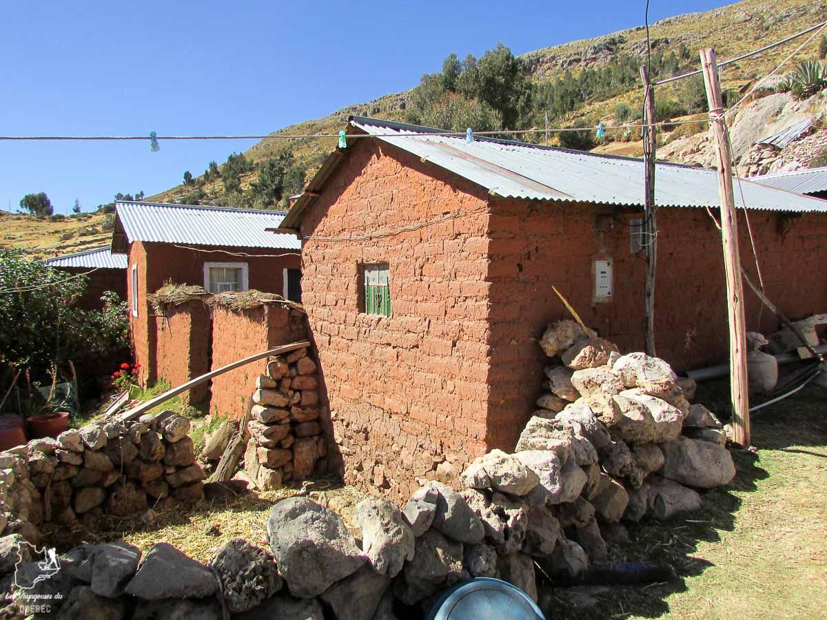 Mon hébergement sur l'île Amantani au lac Titicaca au Pérou dans notre article Le lac Titicaca au Pérou : Mon expérience sur 3 îles et dans une famille locale #perou #lactiticaca #titicaca #voyage #ameriquedusud