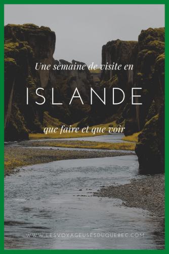Une semaine en Islande : Que faire en Islande