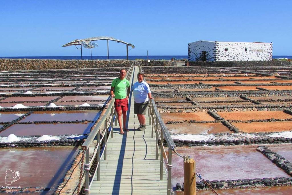 Les salines del Carmen à Fuerteventura dans notre article Visiter Fuerteventura : petit paradis des îles Canaries en Espagne #Fuerteventura #canaries #espagne #voyage #ile