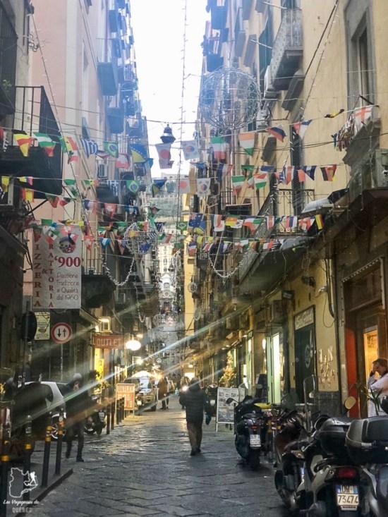Visiter Naples et son quartier espagnol dans notre article Que faire à Naples en Italie et voir : Visiter Naples, Pompéi et la Côte Amalfitaine #naples #italie #europe #voyage #pompei #coteamalfitaine