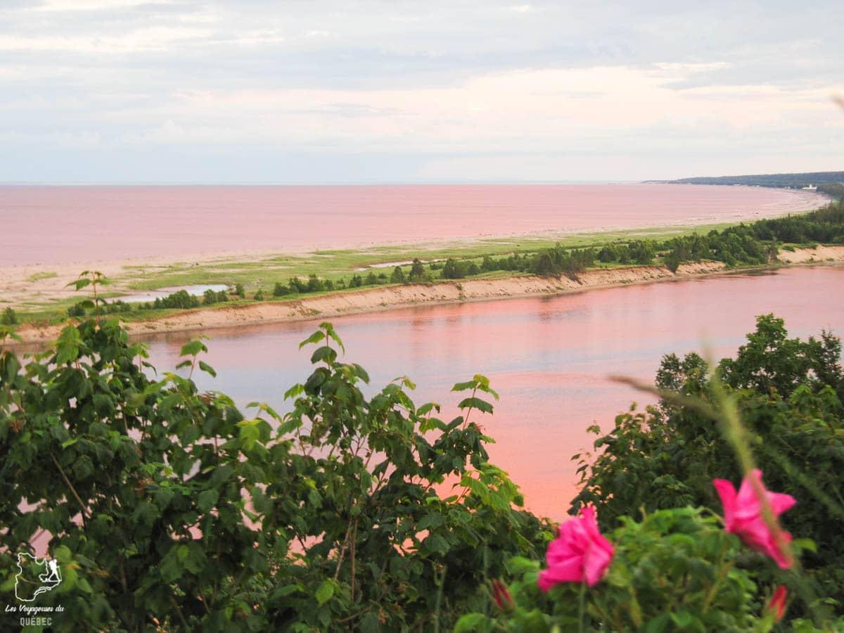 La rivière Pentecôte sur la Côte-Nord dans notre article Visiter la Côte-Nord au Québec : mes coups de cœur tout en nature #cotenord #quebec #canada #nature