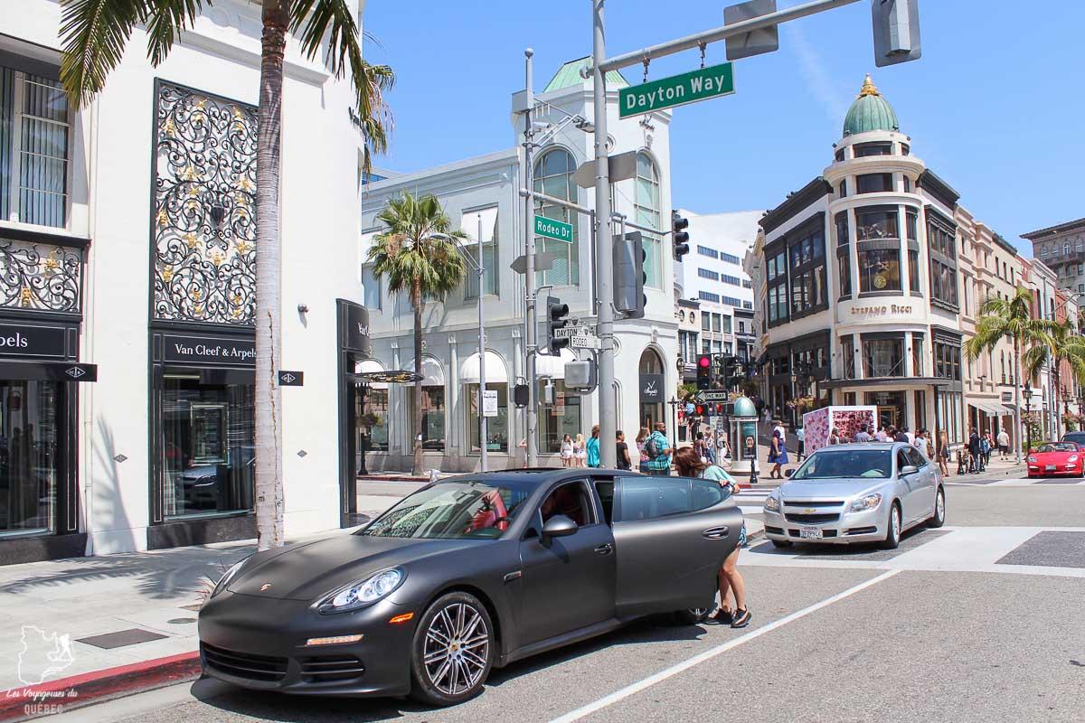 Boutiques de Rodeo Drive à Los Angeles dans notre article Villes de la Californie : une semaine à San Francisco, Los Angeles et San Diego #californie #usa #etatsunis #voyage #losangeles #sanfrancisco #sandiego