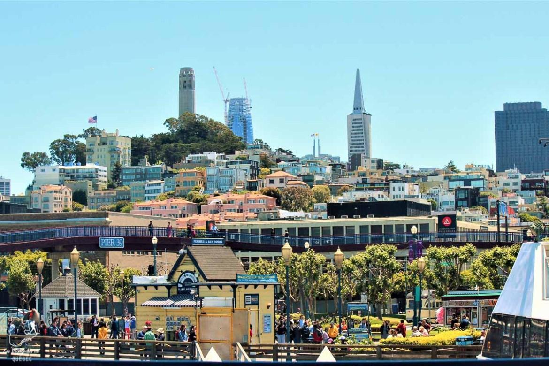 Pier39 dans la ville de San Francisco dans notre article Villes de la Californie : une semaine à San Francisco, Los Angeles et San Diego #californie #usa #etatsunis #voyage #losangeles #sanfrancisco #sandiego