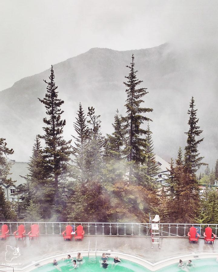 Hot springs de Banff en Alberta dans notre article Road trip vers l'ouest du Canada : mon itinéraire vers la Vallée de l'Okanagan #ouestcanada #ouestcanadien #roadtrip #canada #voyage