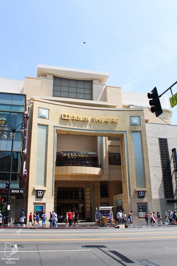 Dolby Theatre à Los Angeles dans notre article Visiter Los Angeles aux USA : Que voir et que faire à Los Angeles en 3 jours #losangeles #californie #usa #etatsunis #voyage