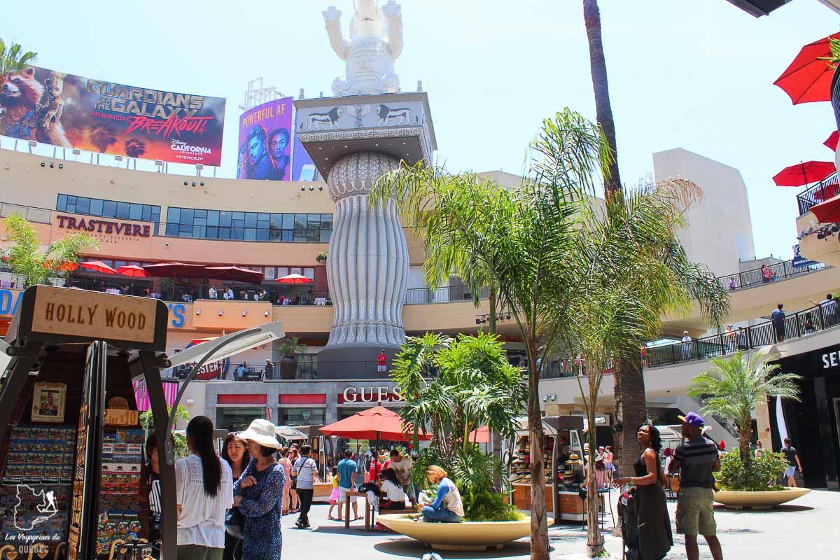 Hollywood boulevard à Los Angeles dans notre article Visiter Los Angeles aux USA : Que voir et que faire à Los Angeles en 3 jours #losangeles #californie #usa #etatsunis #voyage