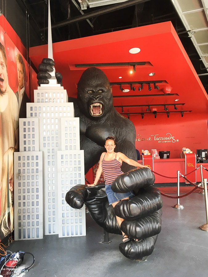 Statue de King Kong à Los Angeles dans notre article Visiter Los Angeles aux USA : Que voir et que faire à Los Angeles en 3 jours #losangeles #californie #usa #etatsunis #voyage