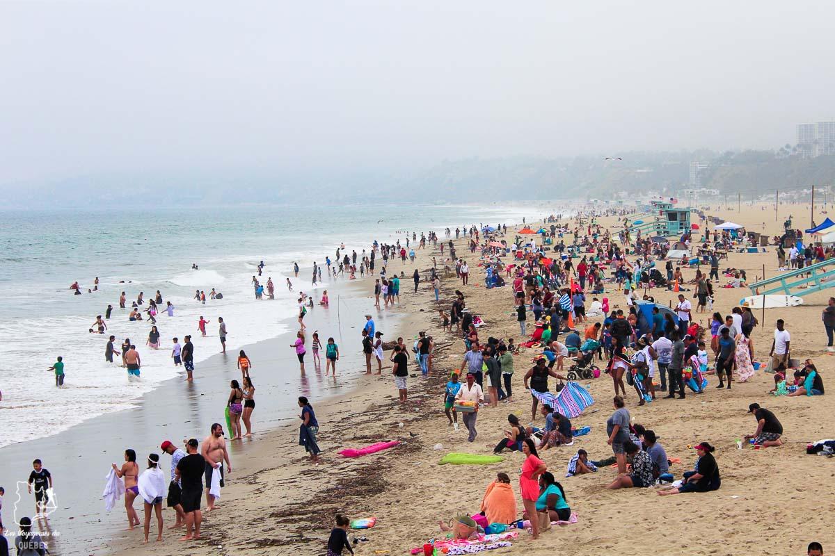 Plage de Santa Monica à Los Angeles dans notre article Visiter Los Angeles aux USA : Que voir et que faire à Los Angeles en 3 jours #losangeles #californie #usa #etatsunis #voyage
