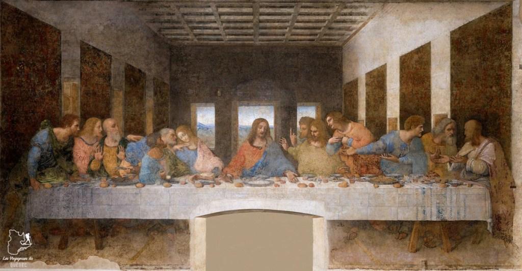 Art renaissance à l'Église Santa Maria delle Grazie à Milan dans notre article Visiter Milan en Italie : 8 incontournables de que voir et que faire en 3 jours #Milan #Italie #Europe #voyage