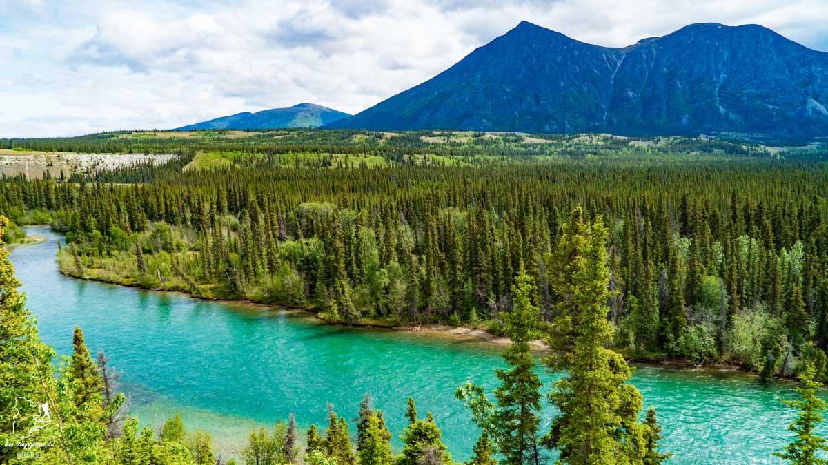 Tahini River au Yukon au Canada dans notre article Mon road trip au Yukon au Canada : 12 jours de liberté en truck camper au gré du vent #yukon #canada #roadtrip #voyage