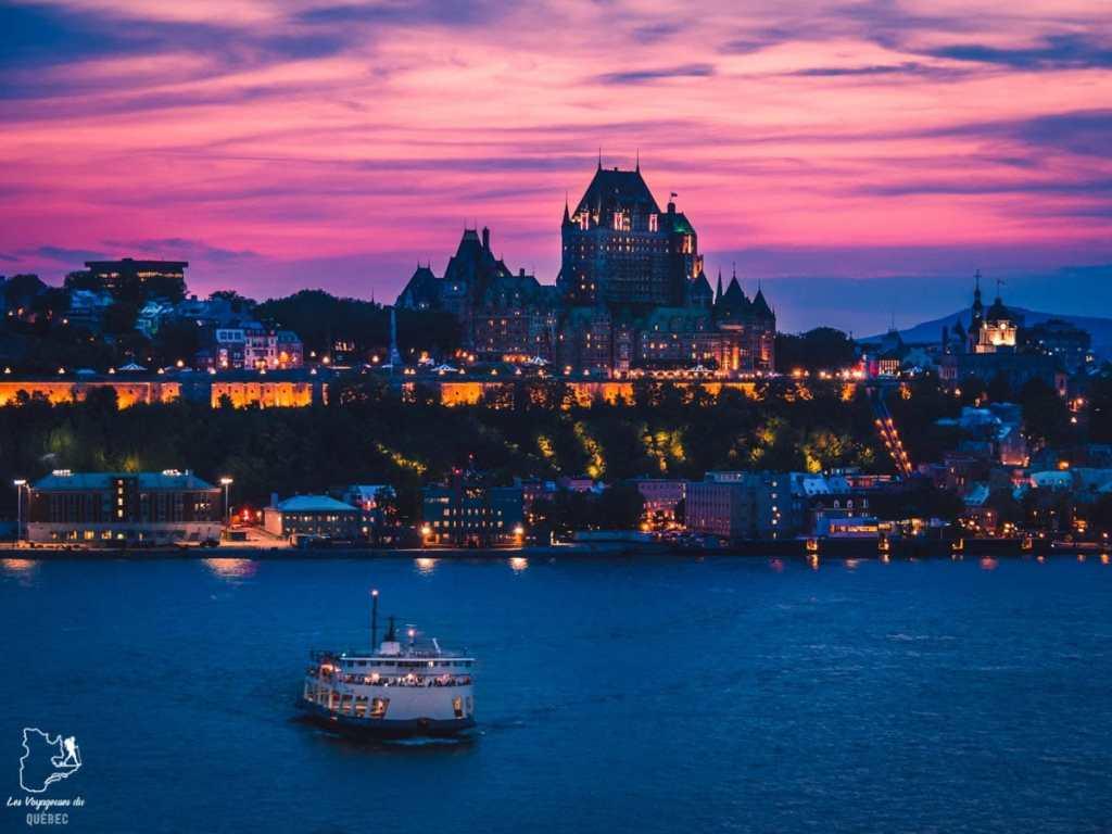 Photographier la ville de Québec à partir de la Terrasse du Chevalier-de-Lévis dans notre article Visiter Québec à travers ses plus beaux points de vue : 12 endroits où photographier la ville de Québec #quebec #villedequebec #canada #photographie