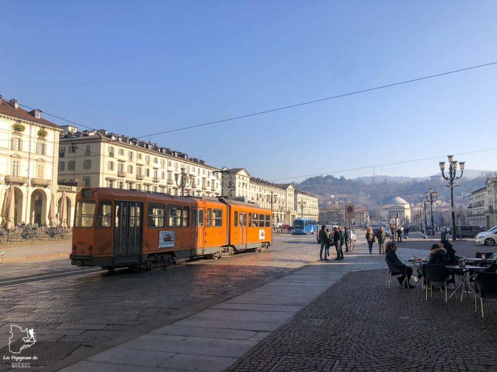Piazza Vittorio Veneto à Turin dans notre article Visiter Turin en 1 jour : Que voir et que faire à Turin en Italie #turin #italie #europe #voyage
