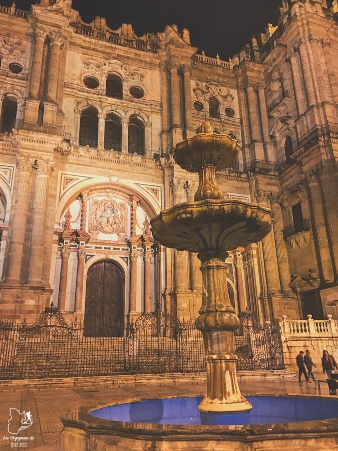 La cathédrale de l'incarnation à Malaga dans notre article Voyage au sud de l'Espagne : Itinéraire de 2 semaines à visiter en mode backpack #espagne #sudespagne #malaga #seville #grenade #europe #voyage #itineraire #backpack