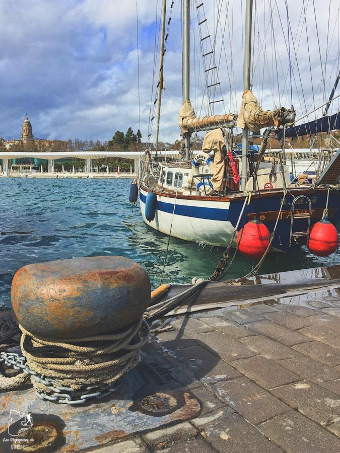 Port de Malaga dans notre article Voyage au sud de l'Espagne : Itinéraire de 2 semaines à visiter en mode backpack #espagne #sudespagne #malaga #seville #grenade #europe #voyage #itineraire #backpack