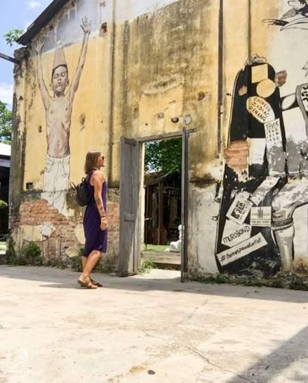 Voyager en tant que femme à Georgetown en Malaisie dans notre article Georgetown en Malaisie : Visiter Georgetown en 5 incontournables à ne pas manquer #georgetown #malaisie #asie #voyage