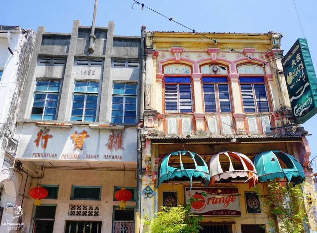Chinatown à visiter à Georgetown en Malaisie dans notre article Georgetown en Malaisie : Visiter Georgetown en 5 incontournables à ne pas manquer #georgetown #malaisie #asie #voyage