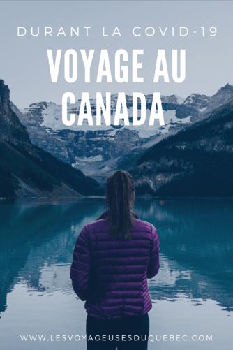 Voyager au Canada en temps de pandémie