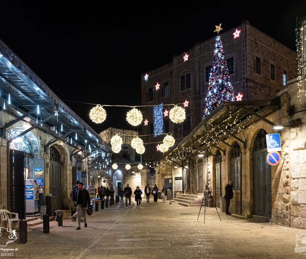 Vieille ville de Jérusalem en Israël dans notre article Noël en Terre sainte : 9 jours à visiter Israël et la Palestine durant les fêtes #noel #terresainte #israel #palestine