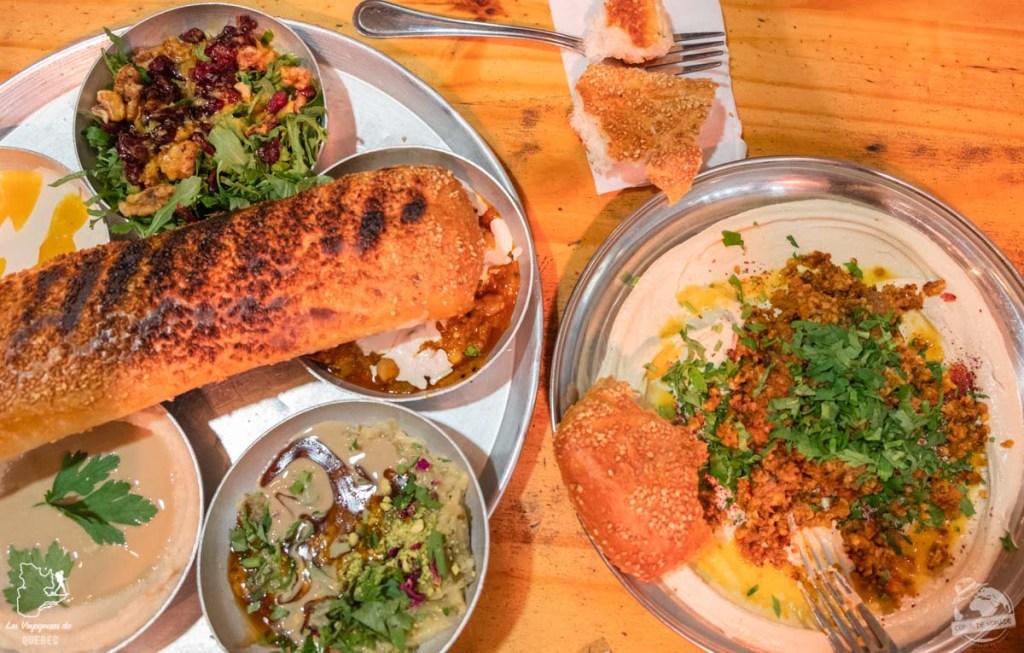 Gastronomie en Israël dans notre article Noël en Terre sainte : 9 jours à visiter Israël et la Palestine durant les fêtes #noel #terresainte #israel #palestine