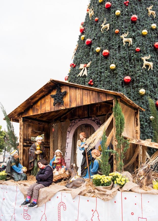 Crèche de Noël à Bethléem en Palestine dans notre article Noël en Terre sainte : 9 jours à visiter Israël et la Palestine durant les fêtes #noel #terresainte #israel #palestine