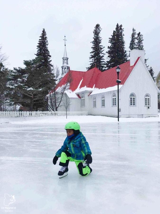 Patiner en forêt dans notre article 10 activités hivernales au Québec : quoi faire au Québec en hiver #hiver #quebec #canada #activites