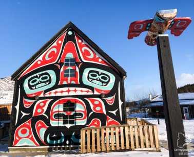 Le Café Caribou à Car Cross au Yukon dans notre article Visiter le Yukon en hiver : quoi faire au Yukon durant la saison hivernale #yukon #hiver #canada #voyage