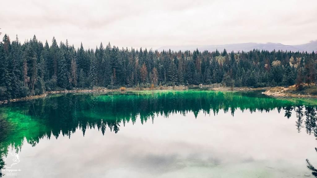 Lac en Alberta dans notre article Voyager au Canada en temps de pandémie : Mon voyage dans l'Ouest canadien #canada #ouestcanadien #pandemie #covid19 #voyage
